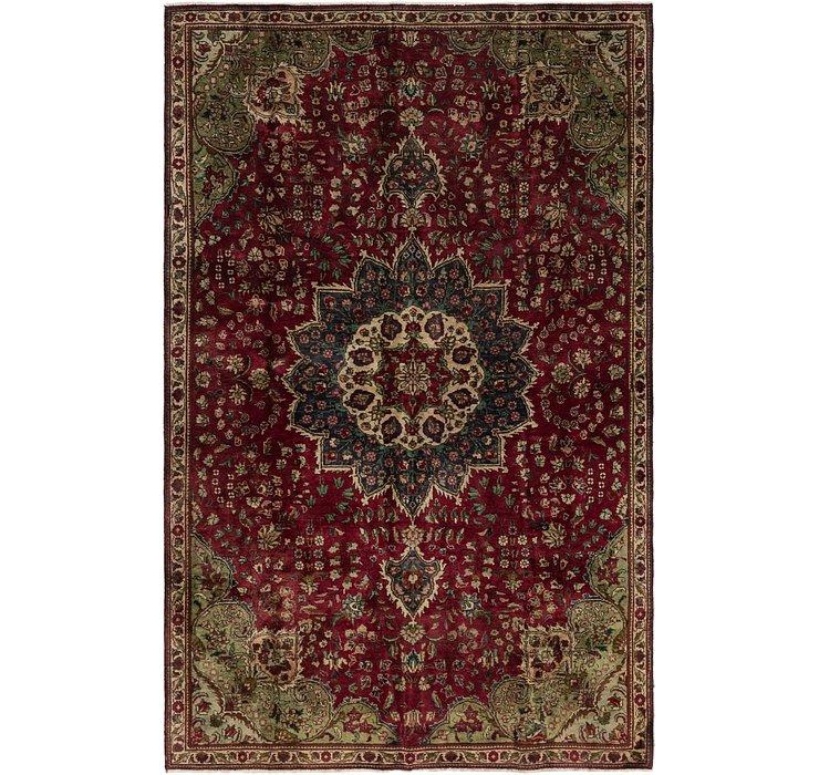 6' 7 x 10' 4 Tabriz Persian Rug
