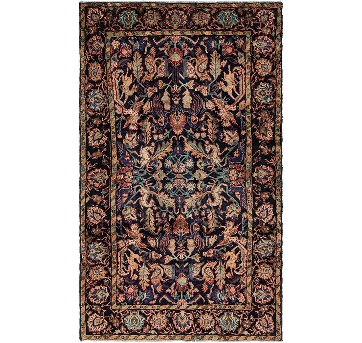 6' x 10' Hamedan Persian Rug
