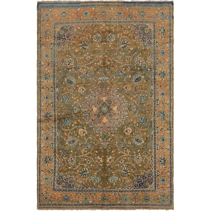 6' x 9' 4 Mahal Persian Rug