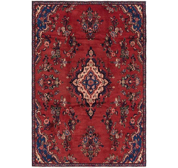 165cm x 245cm Hamedan Persian Rug