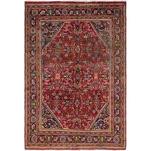 7' x 10' 6 Mahal Persian Rug