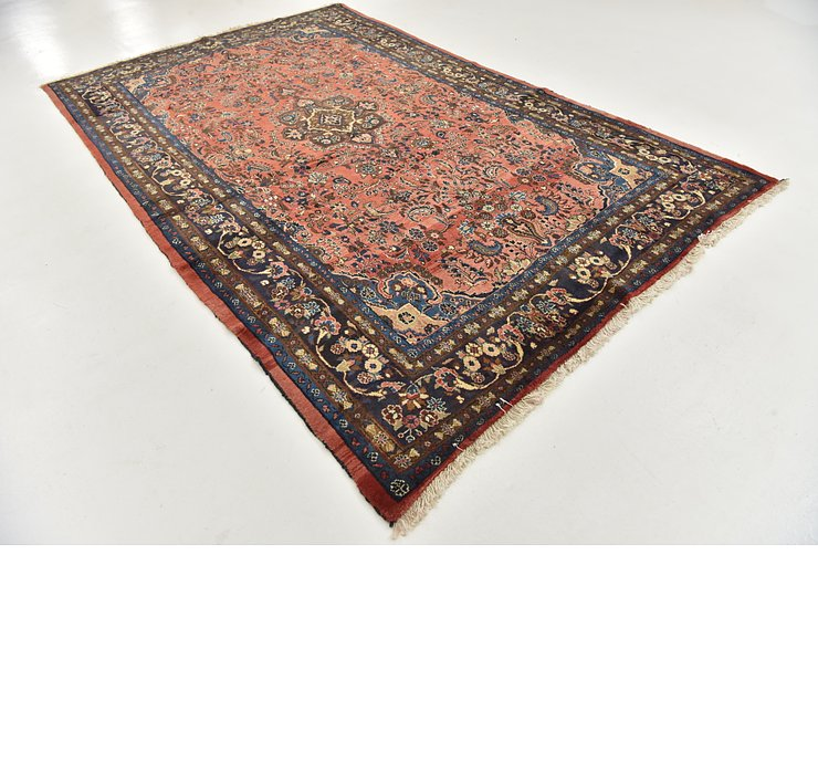 HandKnotted 6' 6 x 10' 7 Shahrbaft Persian Rug