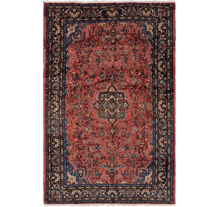 198cm x 323cm Shahrbaft Persian Rug