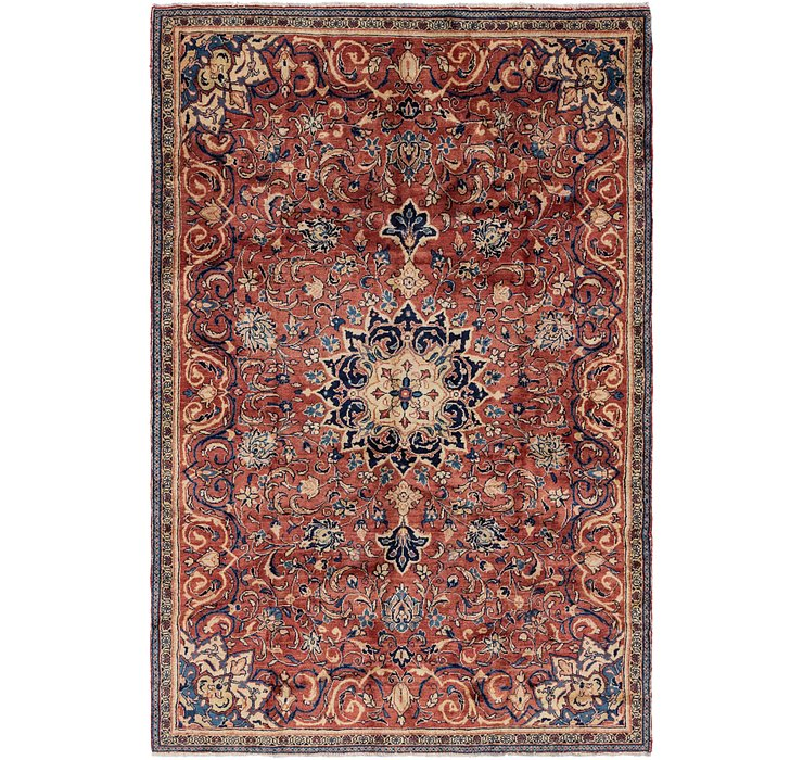 6' 6 x 9' 8 Farahan Persian Rug