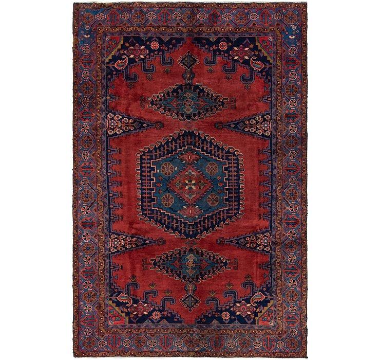 193cm x 295cm Viss Persian Rug