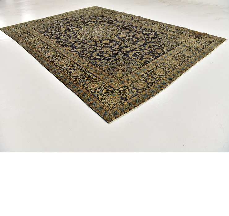 HandKnotted 9' x 12' 8 Kashan Persian Rug