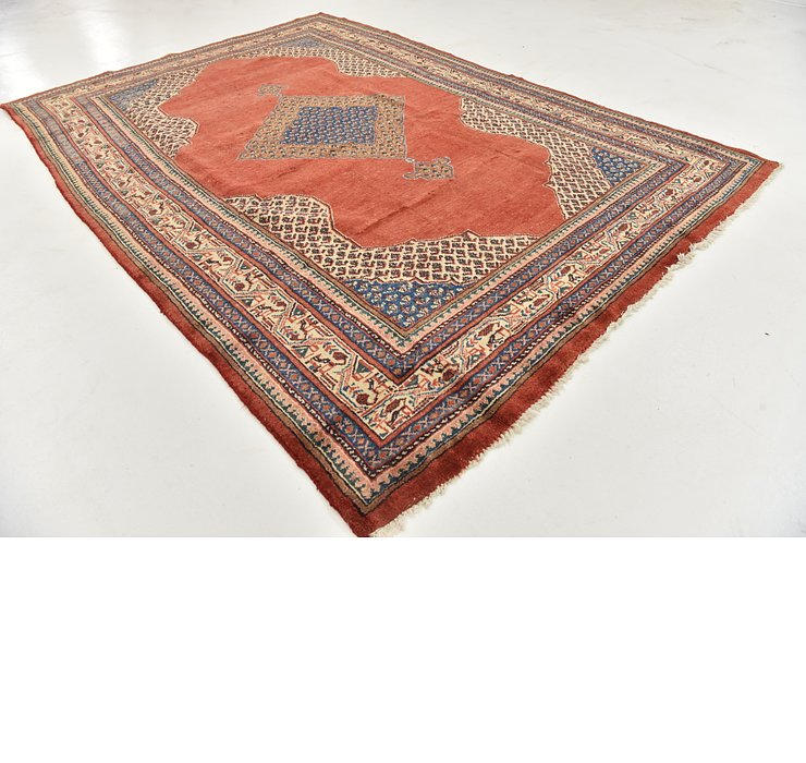 HandKnotted 7' 7 x 11' Farahan Persian Rug
