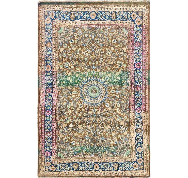6' 7 x 10' 4 Mashad Persian Rug