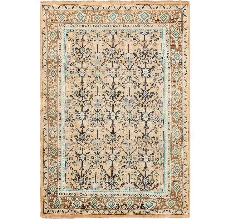 7' 4 x 11' Farahan Persian Rug
