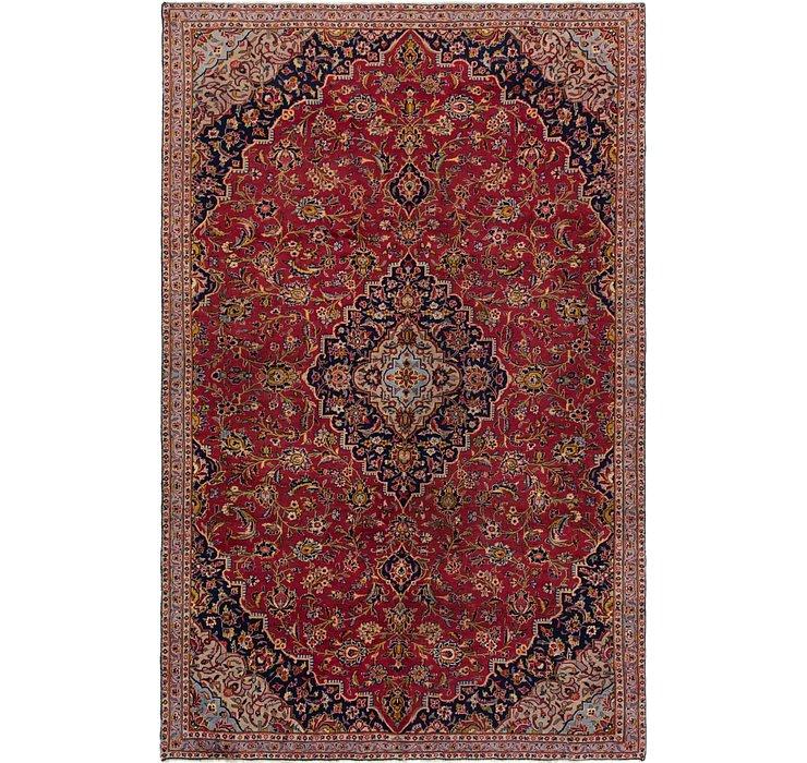 6' 8 x 10' 7 Kashan Persian Rug
