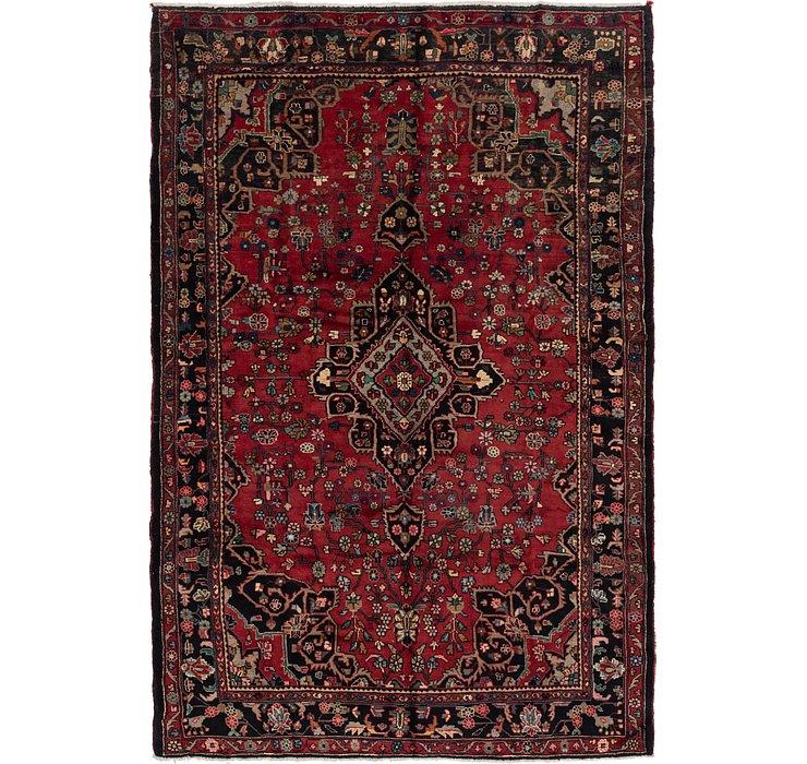 7' x 10' 3 Hamedan Persian Rug