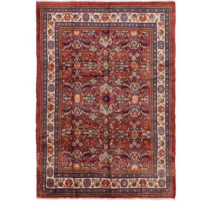 7' 3 x 10' 5 Mahal Persian Rug
