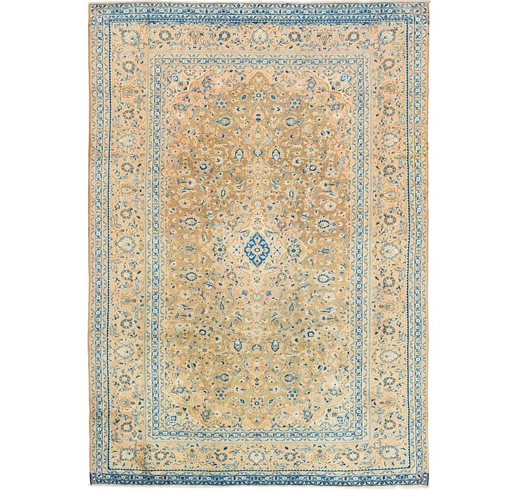 HandKnotted 8' x 11' 3 Kashan Persian Rug