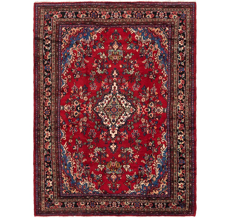 HandKnotted 8' 8 x 11' 6 Shahrbaft Persian Rug