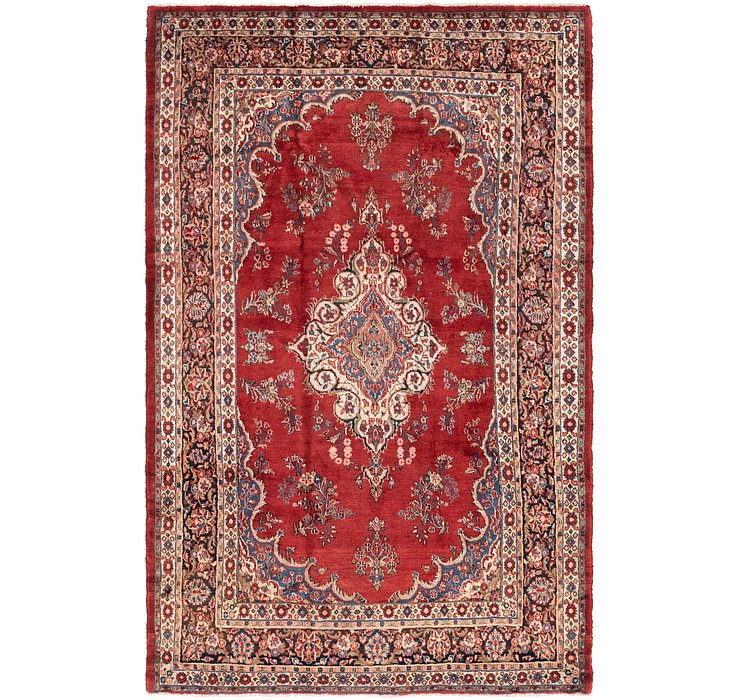 HandKnotted 7' 6 x 11' 6 Shahrbaft Persian Rug