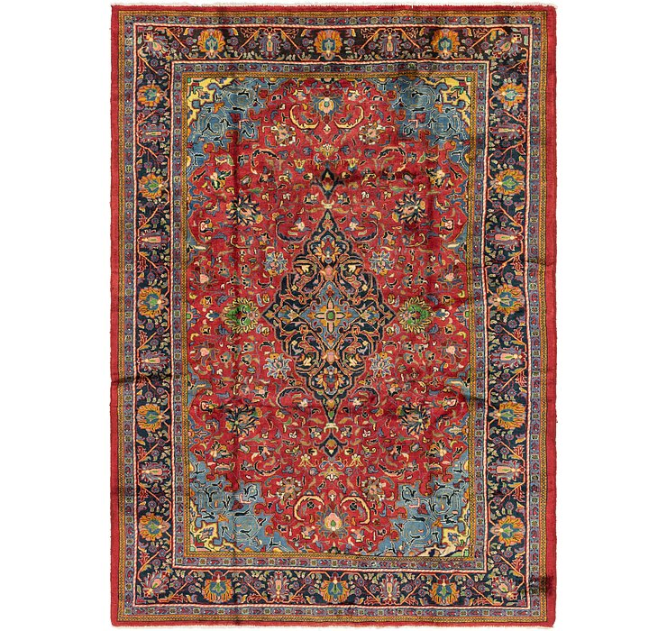 7' 10 x 11' 6 Golpayegan Persian Rug