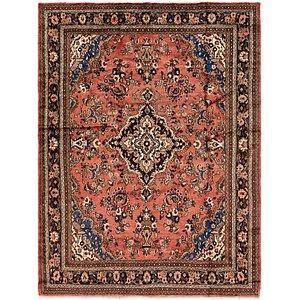9' x 11' 9 Hamedan Persian Rug