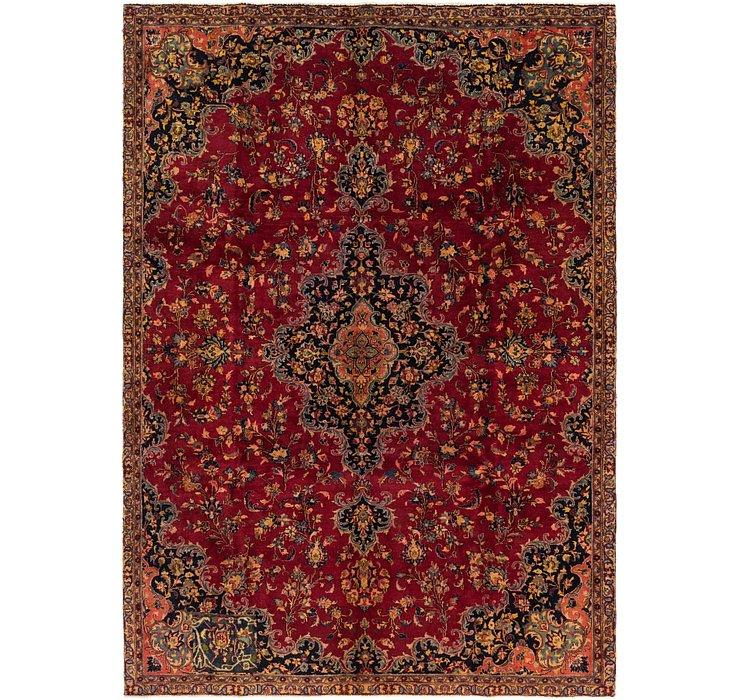 225cm x 312cm Mashad Persian Rug