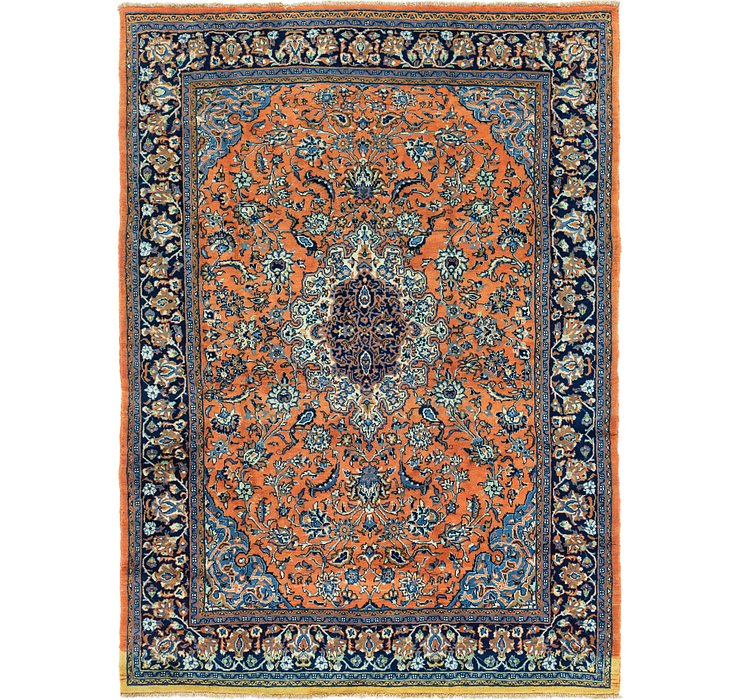 7' 9 x 10' 9 Golpayegan Persian Rug