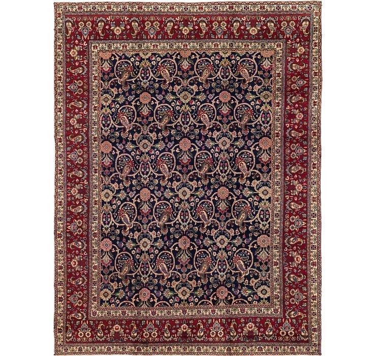 297cm x 385cm Tabriz Persian Rug