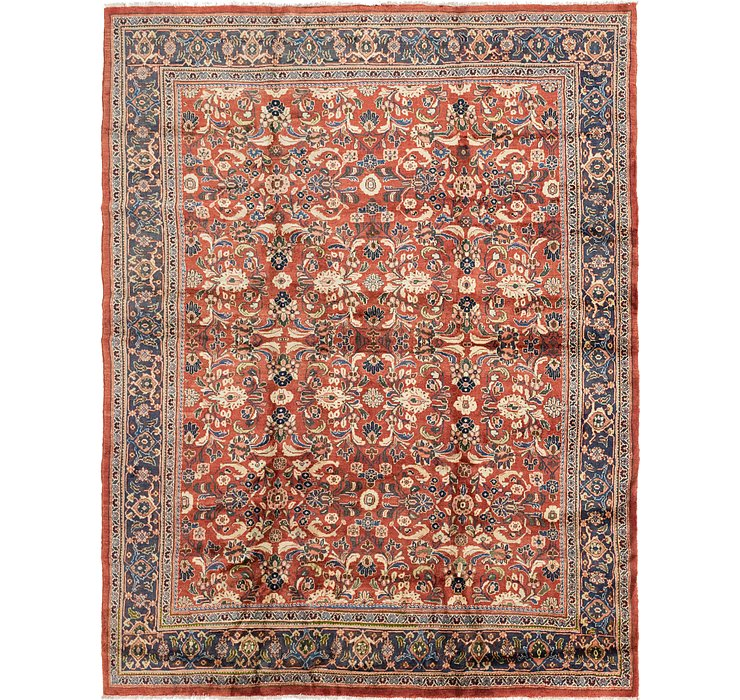 HandKnotted 10' 2 x 12' 9 Mahal Persian Rug