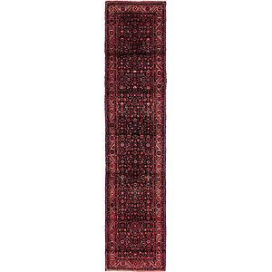 Link to 90cm x 427cm Shahsavand Persian Runn... item page