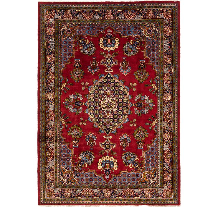 8' 5 x 11' 10 Golpayegan Persian Rug