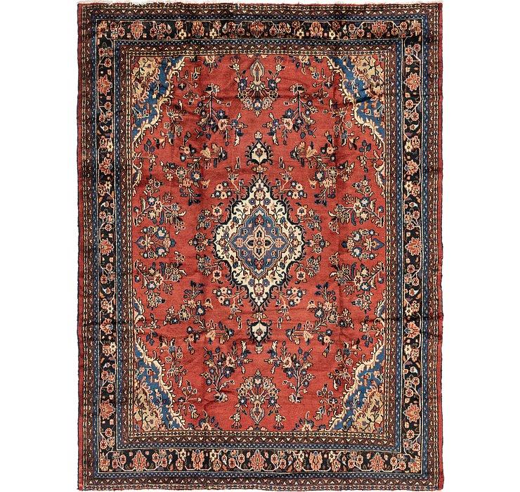 8' 10 x 11' 5 Hamedan Persian Rug