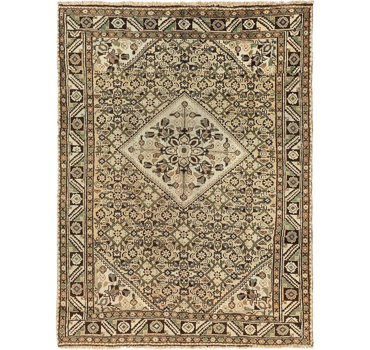 6' 9 x 9' 5 Hossainabad Persian Rug