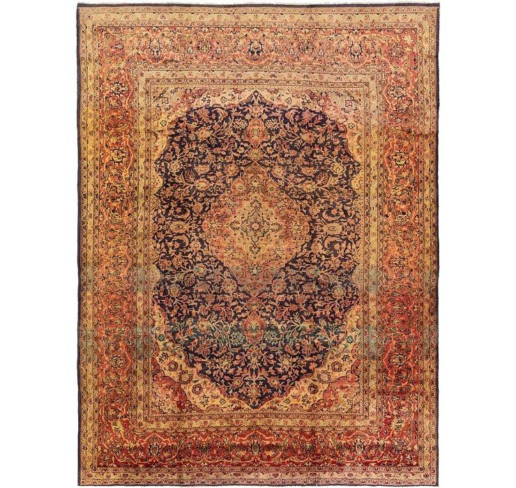 305cm x 417cm Mashad Persian Rug