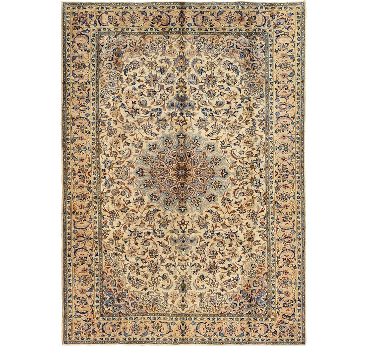 7' 6 x 10' 4 Isfahan Persian Rug
