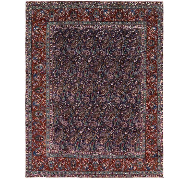 287cm x 365cm Tabriz Persian Rug