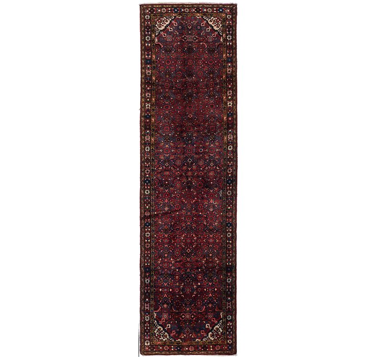 110cm x 390cm Hossainabad Persian Run...