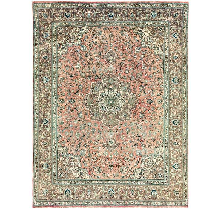 9' 9 x 14' 3 Tabriz Persian Rug