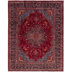 9' 9 x 12' 6 Mashad Persian Rug