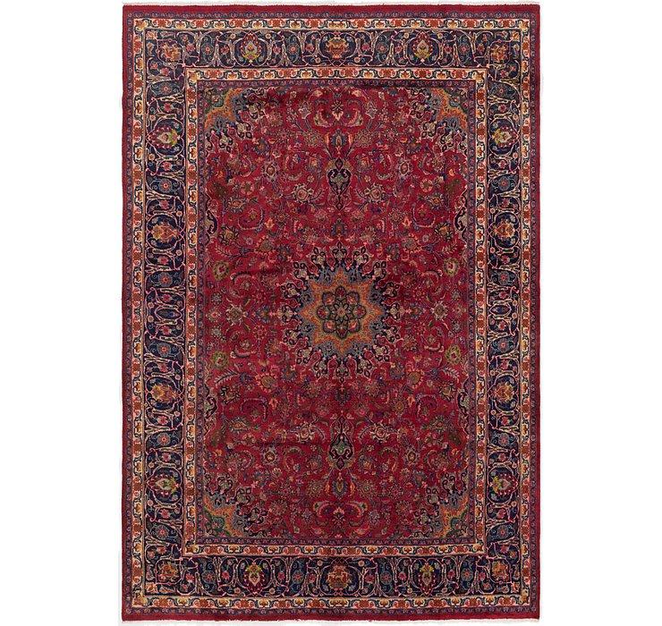 7' 10 x 11' 6 Mashad Persian Rug