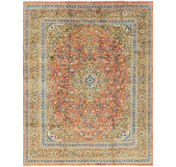 295cm x 380cm Mashad Persian Rug