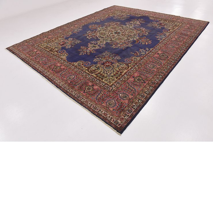 HandKnotted 10' x 12' 2 Tabriz Persian Rug