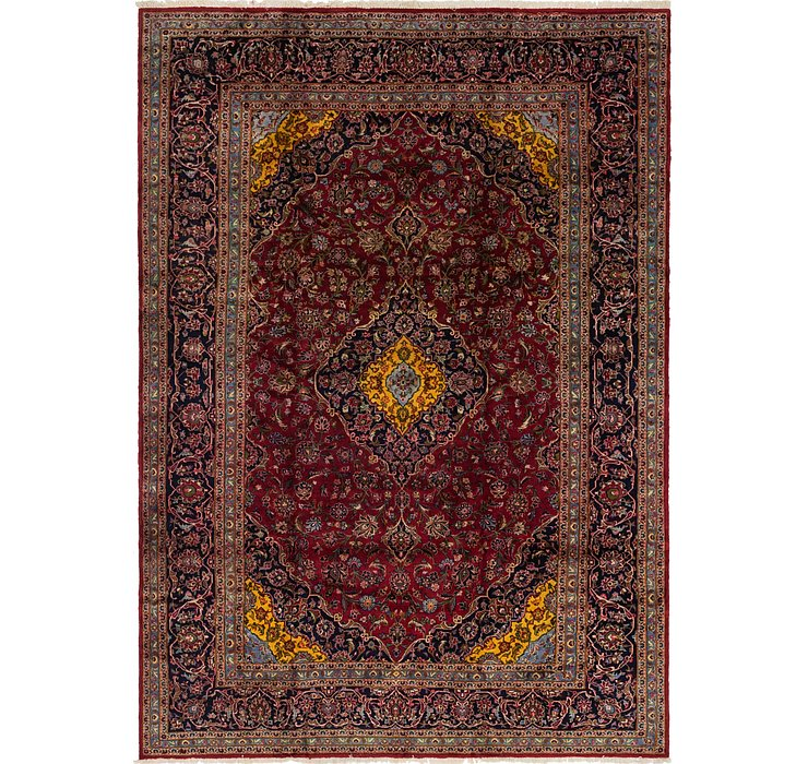 287cm x 410cm Kashan Persian Rug