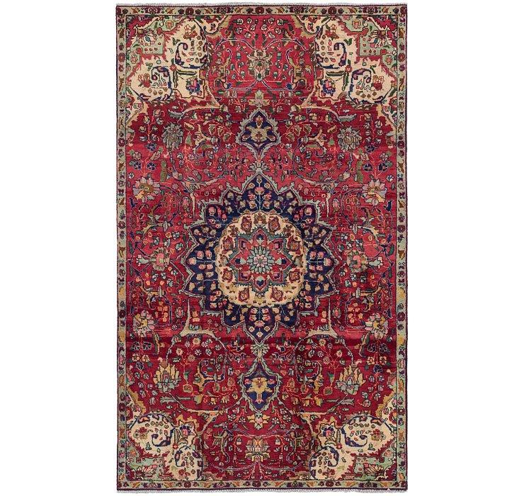 4' 10 x 8' Tabriz Persian Rug