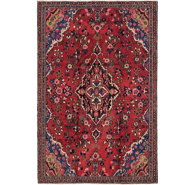 5' 5 x 8' 2 Hamedan Persian Rug