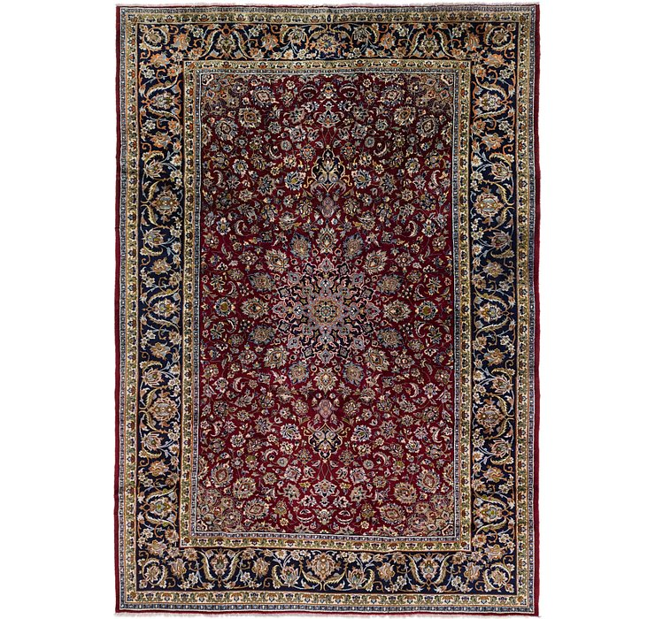 270cm x 390cm Isfahan Persian Rug
