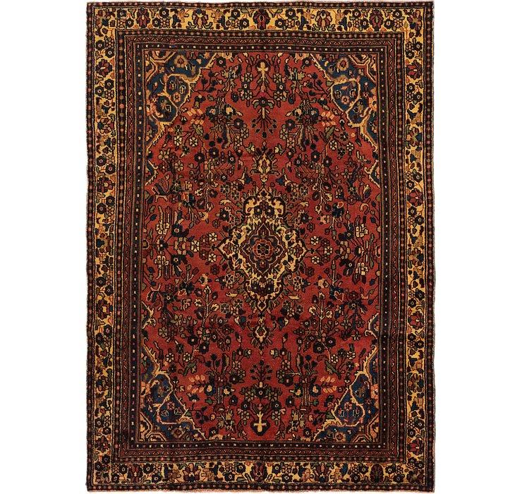 208cm x 287cm Hamedan Persian Rug