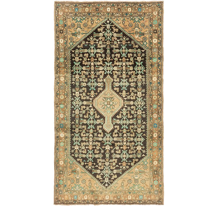 4' 6 x 9' Darjazin Persian Runner...