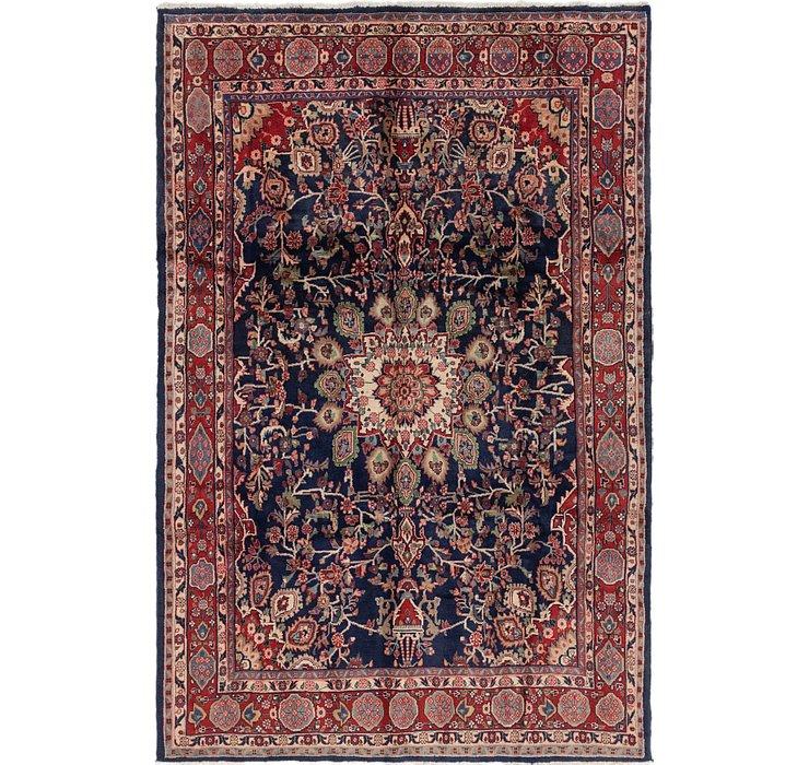 6' 9 x 10' 2 Hamedan Persian Rug