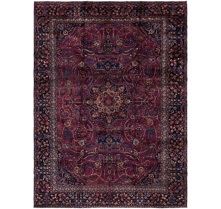 282cm x 390cm Mashad Persian Rug
