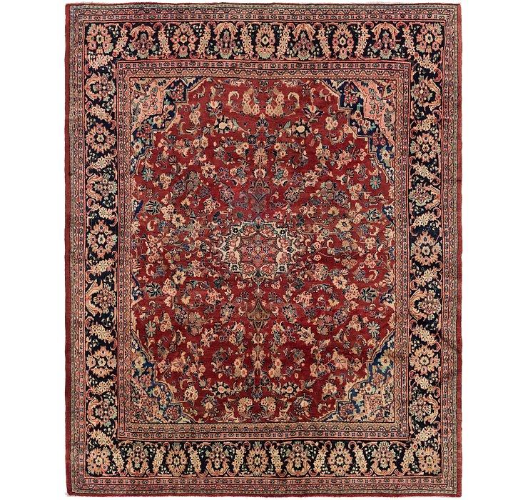 10' x 12' Meshkabad Persian Rug
