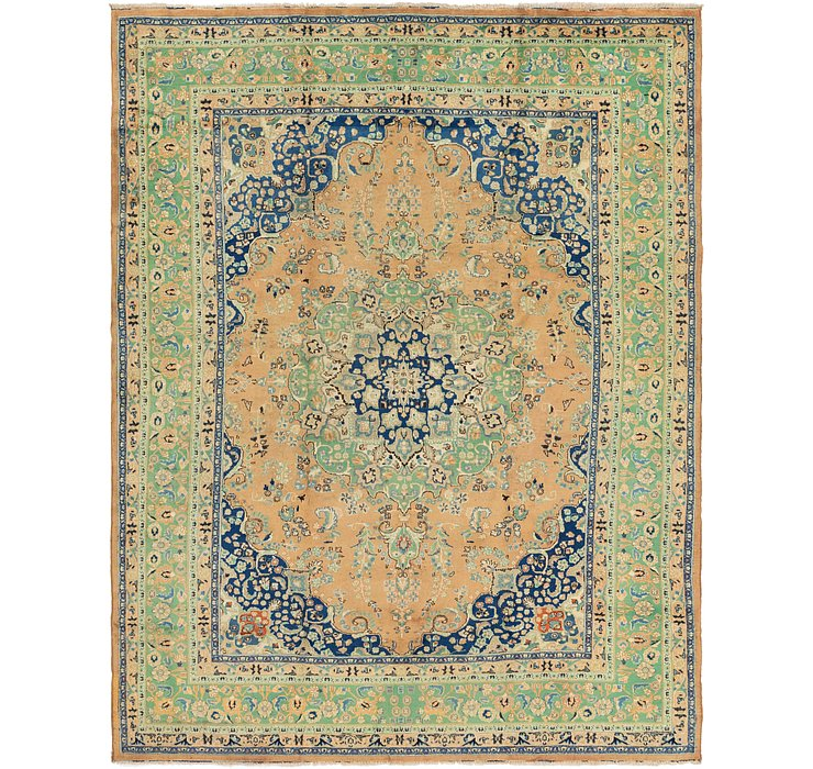 300cm x 385cm Tabriz Persian Rug