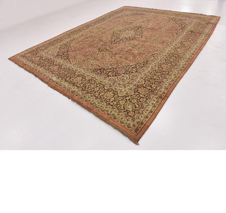 HandKnotted 9' 10 x 13' Mashad Persian Rug