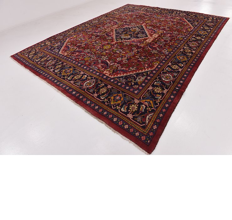 HandKnotted 9' 9 x 12' 10 Mahal Persian Rug